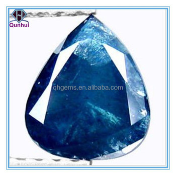 Vivid blue pear shaped gemstone jewellery