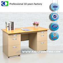 Combined Fitted Steel Office Desk For Office Room