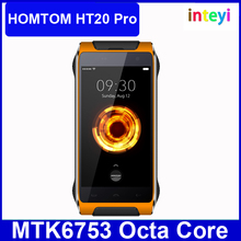 Original Homtom HT20 Pro MTK6753 Octa Core Android 6.0 Waterproof Mobile Phone 4.7 Inch Cell Phone 3G RAM 32G ROM 4G Smartphone