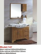 2012 new style of solid wood bathroom vanity