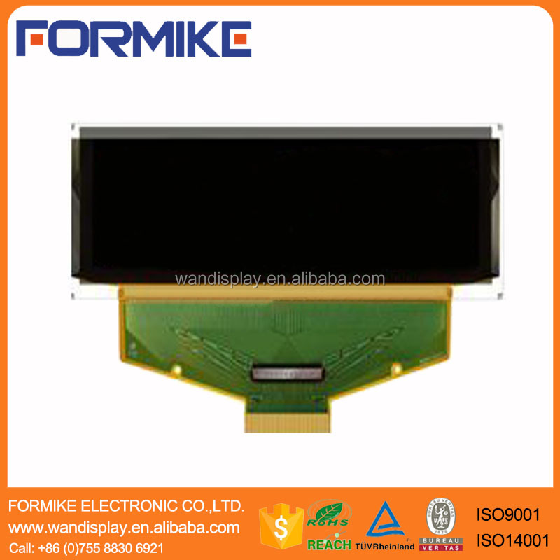 3.12 inch Mono Blue/optional white yellow green 256x64 pixels OLED with 30 pin ZIF Connector with Parallel 3/4-wire SPI