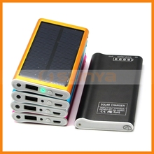 5V 300-800mA Solar Power Portable Charger Power Bank External Battery for Samsung S4 Mini