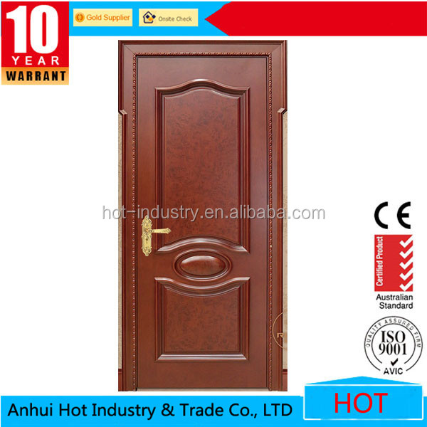 2016 popular teak wood door design teak wood main door for Single wooden door designs 2016