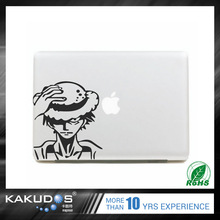 High Quality reusable custom full body laptop skin sticker for macbook