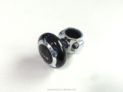 High Quality Universal Steering Wheel Spinner Knob with Rubber Cushion insert
