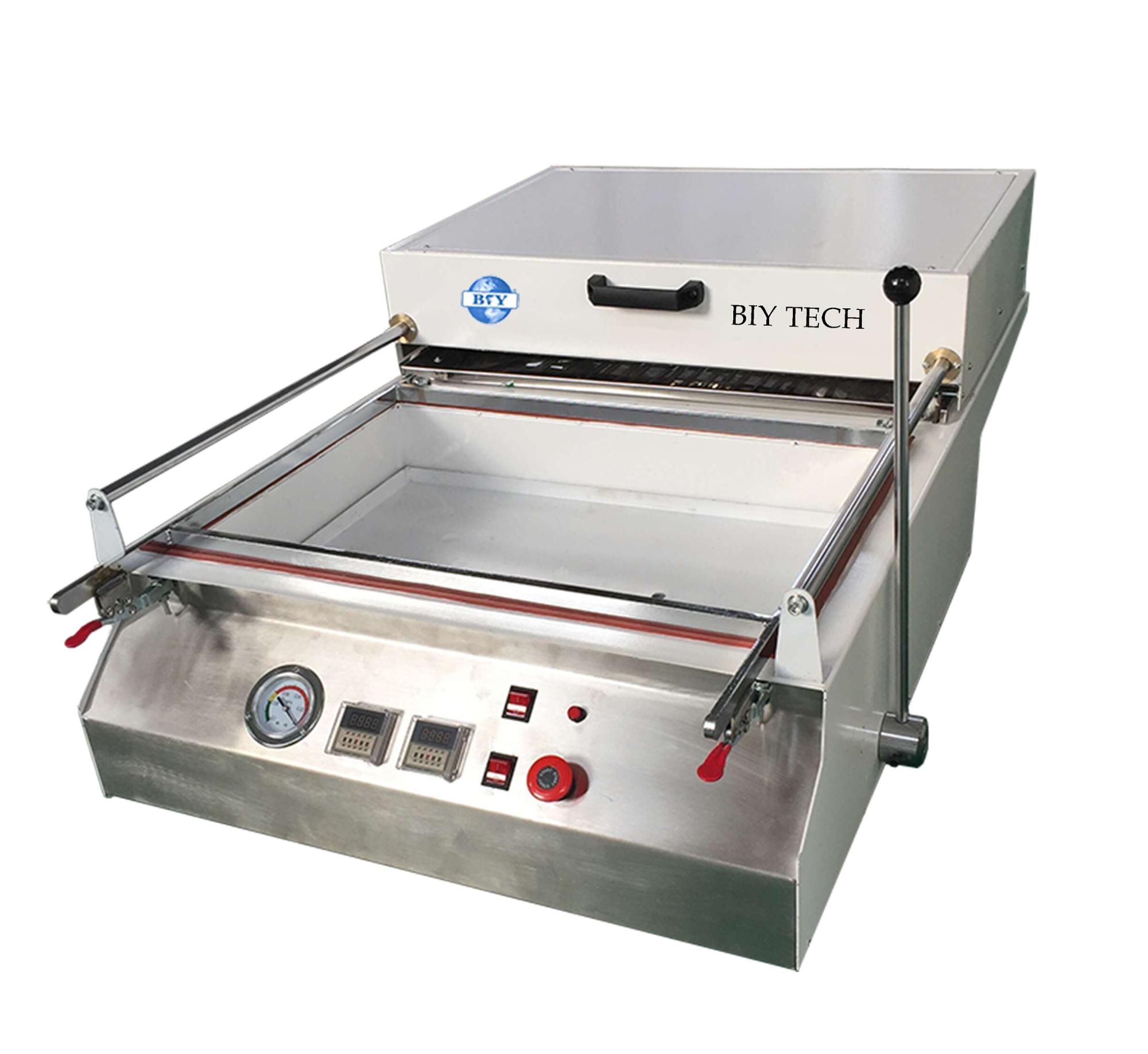 BIYTech mini vacuum forming <strong>machine</strong> for plastics