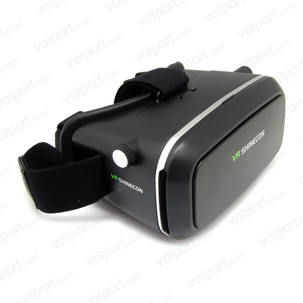 360 Viewing Immersive Virtual Reality 3D VR Glasses Google Cardboard 3D Video Games Glasses VR Headset for 3D Movies and Games