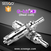 hot electronic cigarette for 2015 Seego G-hit K3 electronic cigarette singapore