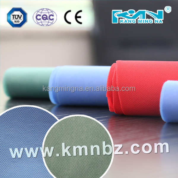 ISO13485 CE approved Blue SMS,SMMS Non-woven Fabric cloth for sterilization