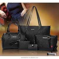 E1388 china supplier christmas promotion big shopping 4 in 1 handbags purses