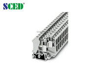 G type terminal block Din Rail Terminal Blocks 10.2mm 300V 65A used for industrial control