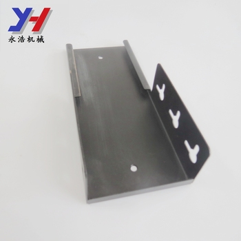custom fabrication slotted electrical trunking wiring duct cover parts with sinking screw holes