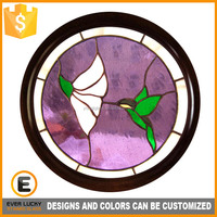 Colorful stained glass window ornaments uk