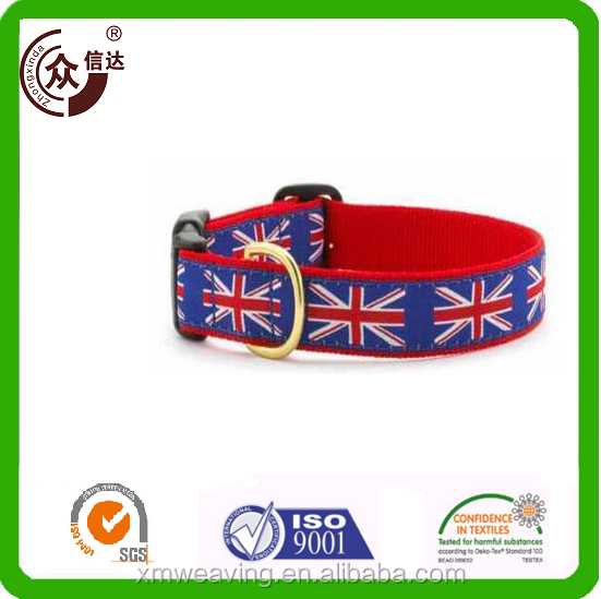 Custom patterns pets accessories neoprene padded dog collar
