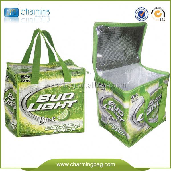 Insulated Portable Canva Cooler Bag