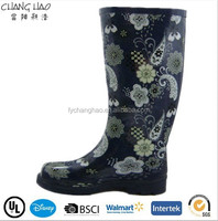 (CH.W049)Fashion design shoes for Women boots 2014 rain boots high heel