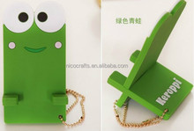 Fashion Frog Shape Silicone Cell Phone Stand