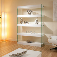Custom display cabinet glass shelf for showing room fashion store