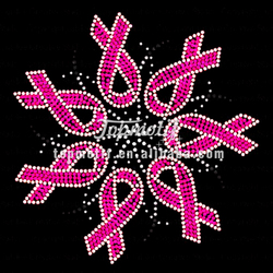 rhinestone ribbon heat transfer wholesale