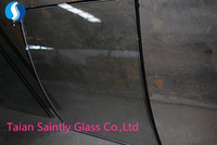 curved tempered clear float insulating glass for automotive