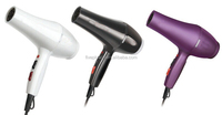 Little Hottie Mini Power Hair Dryer white/ Purple Animal Print Travel