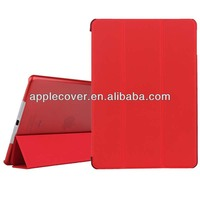 smart cover for apple ipad5 with transparent backside