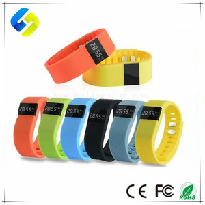 2017 Popular TW64 Sport Bluetooth bracelet Health Pedometer smart watch bracelet