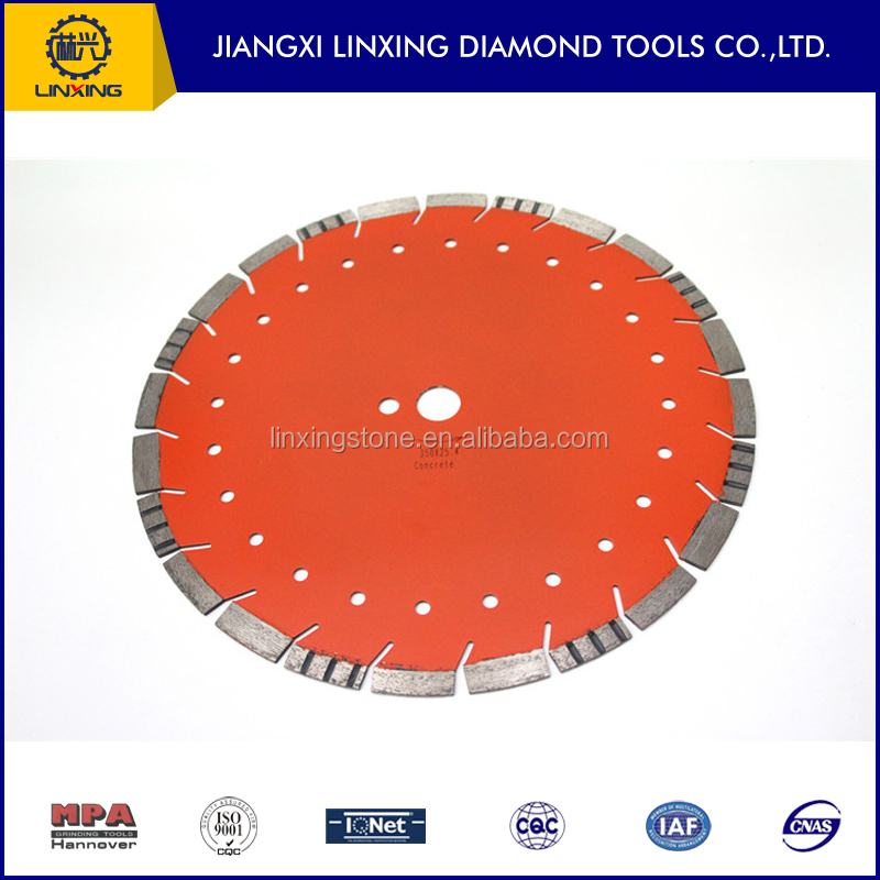 400MM Diamond Saw Blade for Cutting Granite, Marble, Sandstone, Concrete...