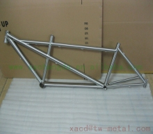 titanium tandem bike frame ti tandem bike frame made in china titanium bicycle frame with integrated head tube