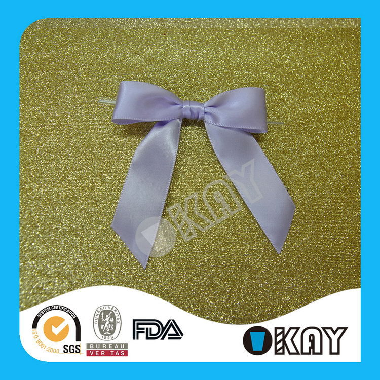 2015 Most Popular Latest Jute Ribbon Bows For Decoration