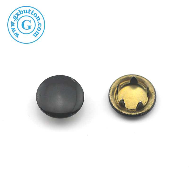 New Arrival Wholesale metal cap prong snap press stud buttons