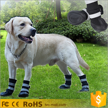 4PCS Cozy Winter Dog Protective Shoes Warm Pet Boots
