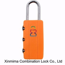 Safely security combination locks travel luggage padlock gym locker suitcase lock bout 62 x 21 x 9mm