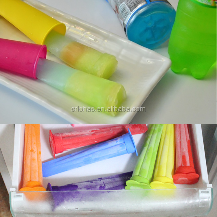 Silicone Popsicle Mold Ice Pop Maker Ice Cream Mold