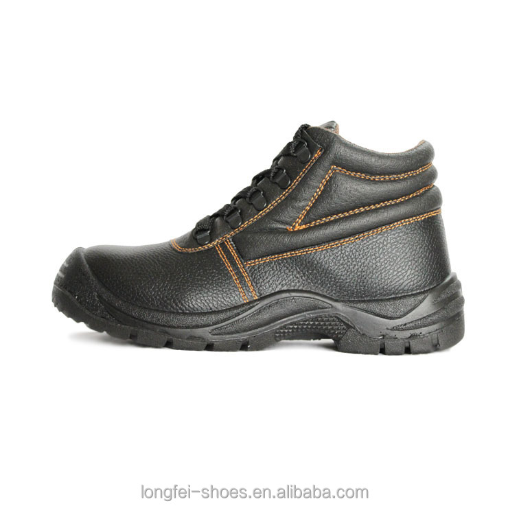 working shoes with dual density PU injecetd outsole LF-191