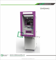 17 inch bill acceptor touch screen terminal payment kiosk for self payment wifi pos terminal