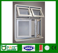 Australian Standard Top Hung Window With Chinese Hardware Commercial Window Price