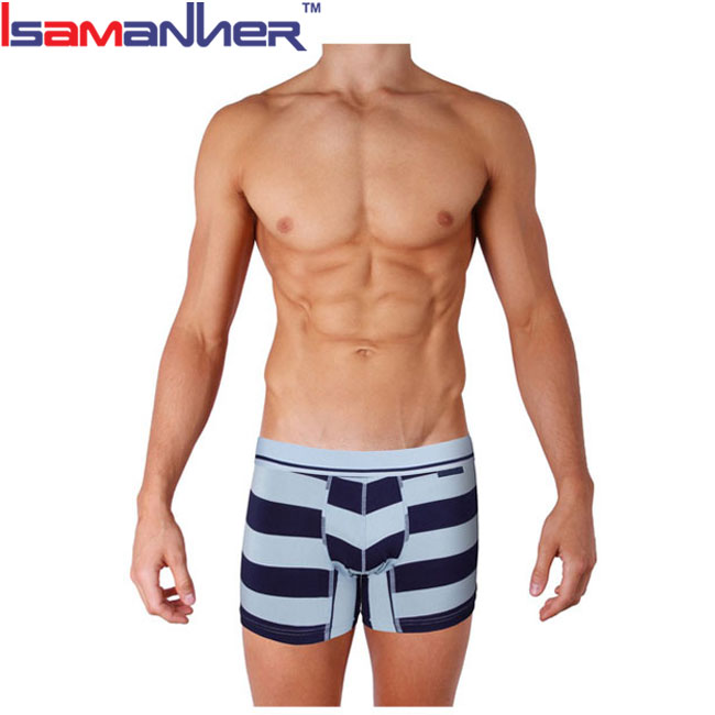 Fashion printing 100% cotton custom boxer shorts mens underwear