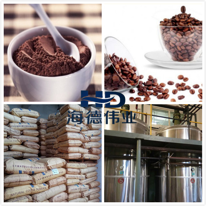 Organic Cocoa Beans/Divided into natural powder and alkalize powder processing method