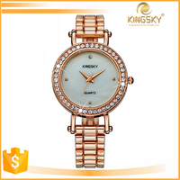 Top Brand Kingsky Fashion Japan Quartz Watch Water Resistant