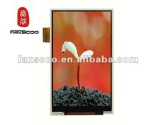 LED backlight character mobile phone LCD module with QVGA resolution