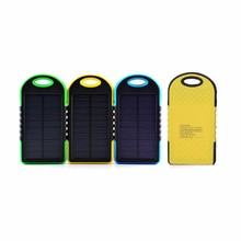 Custom logo printing Li-polymer battery solar cell power bank