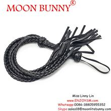 Long Bondage Sex whip PU Leather Whip,Adult Games Bondage Restraints fitting Sex Toys for Couples Flirting