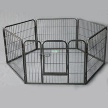 6 Panel Metal Run Cage Pet Dog puppy play pen