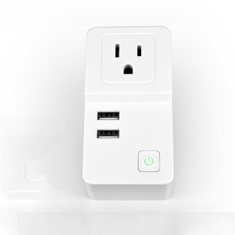 smart wifi UK power <strong>plug</strong> with USB charger