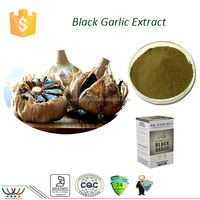 Strong natural antioxidant amino acid extract black garlic powder black garlic extract