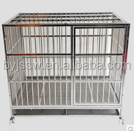 Foldable Stainless Steel Dog Cage Kennel