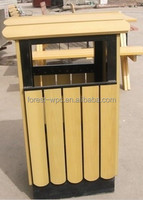 garbage can wpc composite wood decking pergola fence tiles thermowood