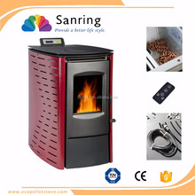 High efficiency italian pellet stove