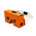 China Factory 3D Google cardboard V2, virtual reality 3D Google cardboard V2 customized logo, diy google cardboard